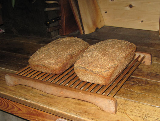 bread cooking