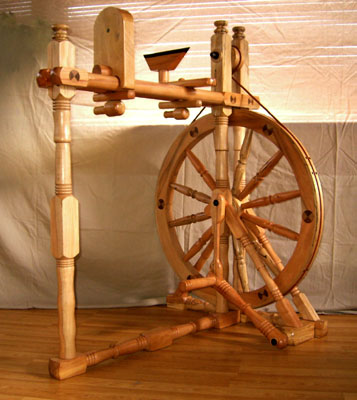 how to make a wooden flywheel